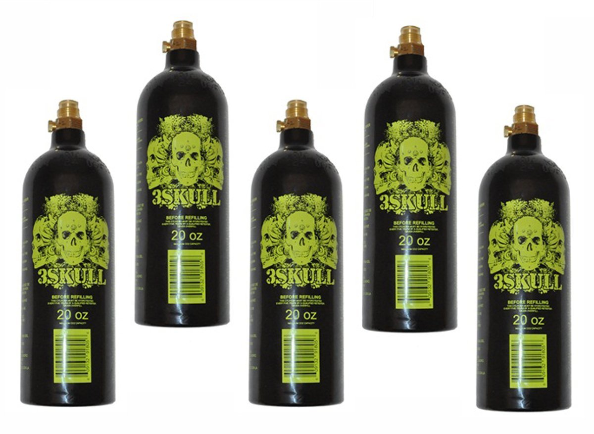3Skull 20 Ounce CO2 Paintball Tanks