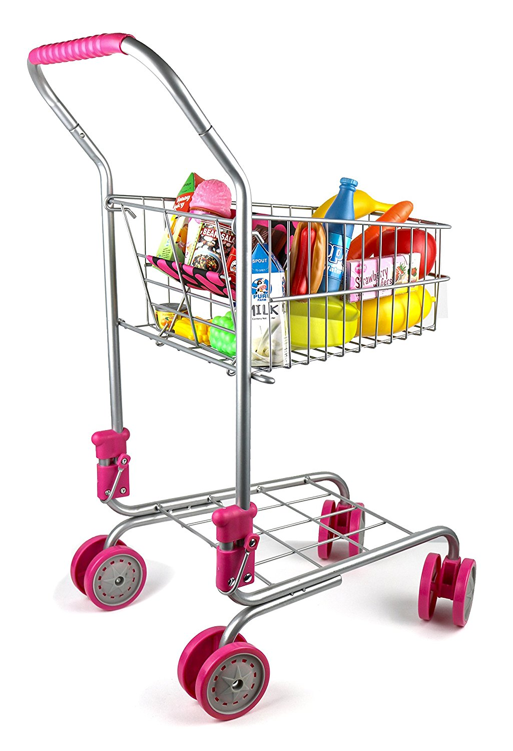 Precious Toys Pretend Play Shopping Cart