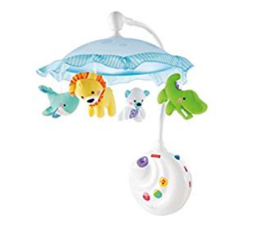 Fisher-Price Precious Planet 2-in-1 Projection Baby Mobile