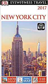 DK Eyewitness New York City Travel Guide - Paperback or Flexibound Options, Free Walking Tour App Available