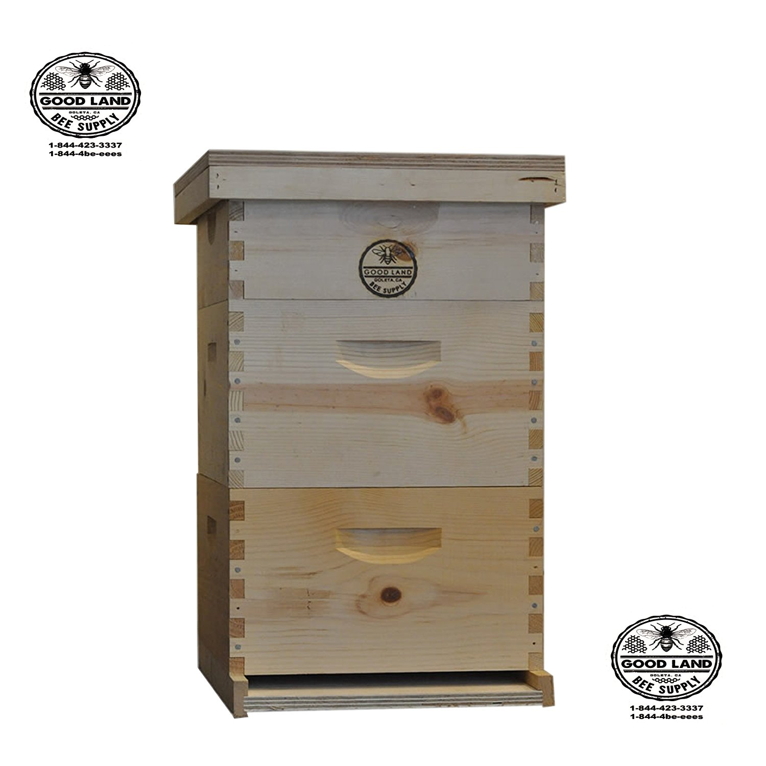 Goodland Bee Supply 3-Tier Bee Hive Kit