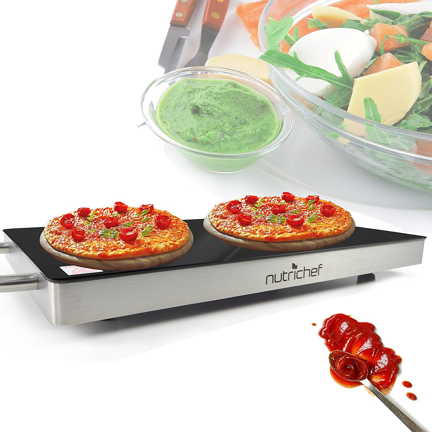 NutriChef Electronic Warming Tray