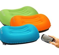 Trekology Ultralight Inflating Travel Pillow