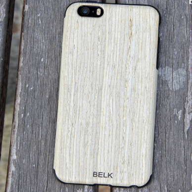 Belk iPhone Non Slip Wooden Case