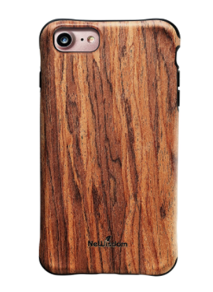 NeWisdom iphone 7 Shockproof Wood Case
