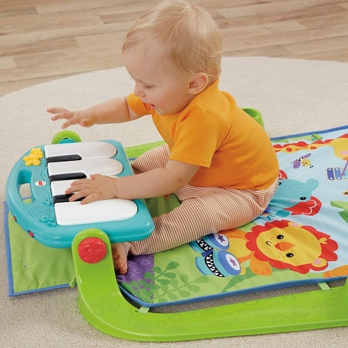 Fisher-Price Kick & Play Piano Baby Gym