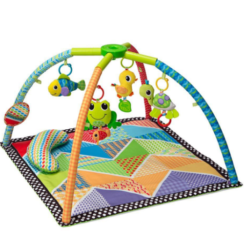 Infantino Pond Pals Twist & Fold Activity Gym