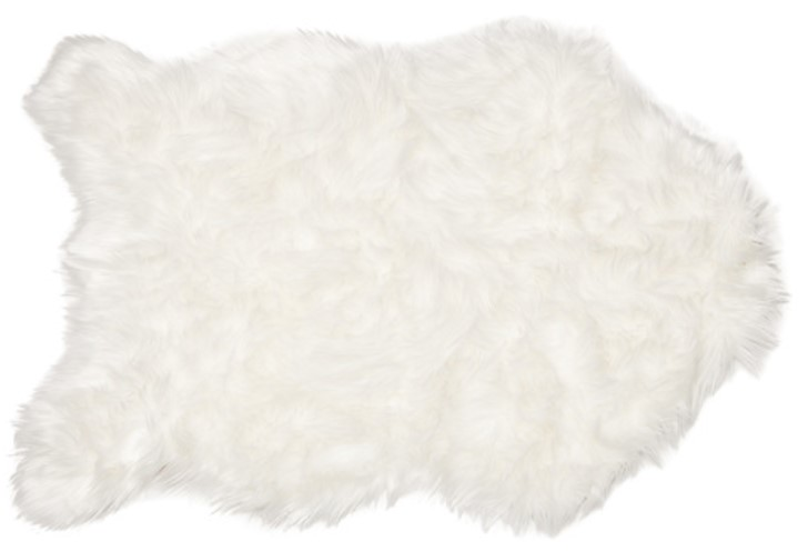 Chanasya Soft Mangolian Faux Sheepskin Rug