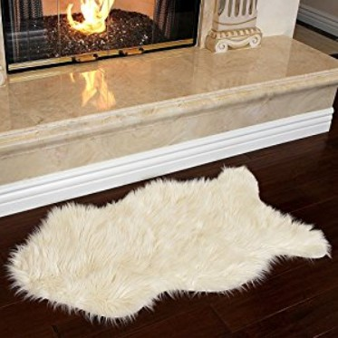 Nouvelle Legende Faux Fur Sheepskin Rug
