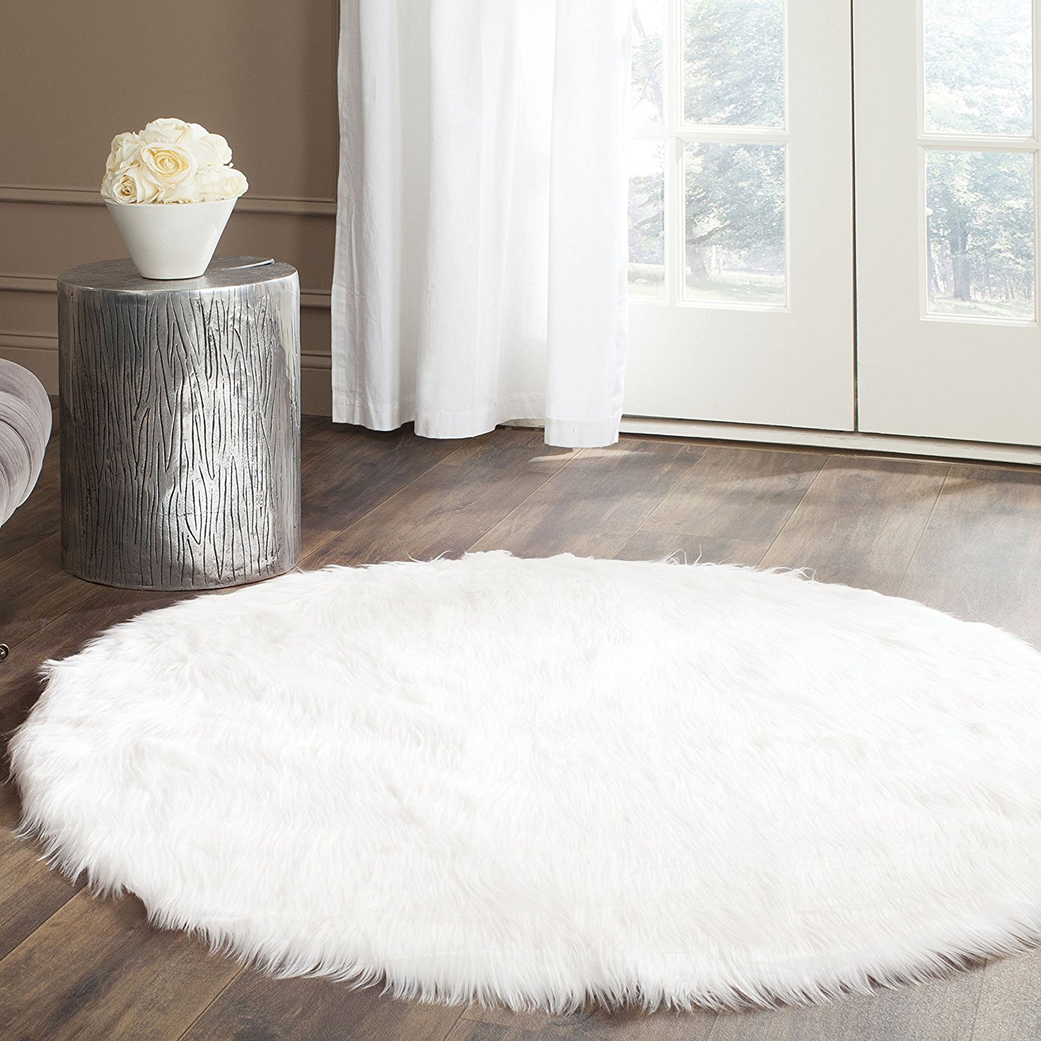 Safavieh Faux Sheepskin Area Shag Rug