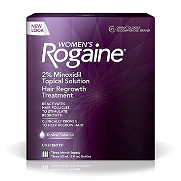 Rogaine Women's Hair Regrowth Treatment Solution - 3-Months Supply Solution