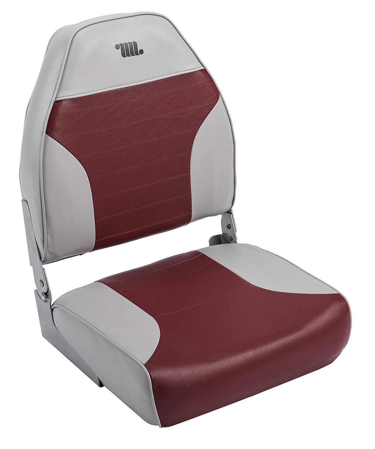 Wise High-Back Fishing Boat Seat