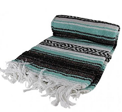 Kayso Authentic Large Mexican Blanket