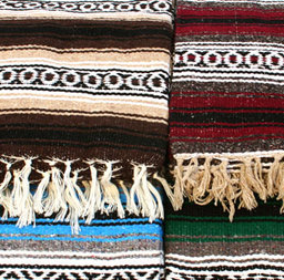 Rolling Sands Premium Mexican Yoga Blankets