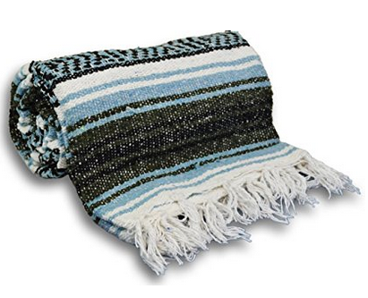 Yoga Accessories Mexican Yoga Blanket