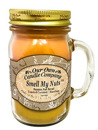Our Own Candle Co. Smell My Nuts Candle