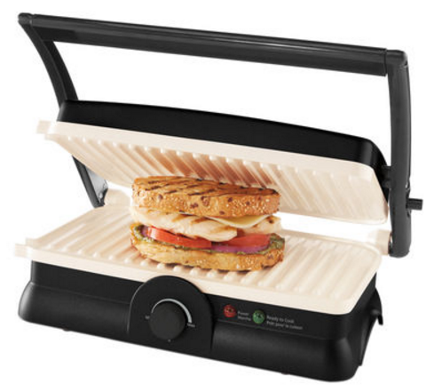 Oster DuraCeramic Panini Maker and Grill