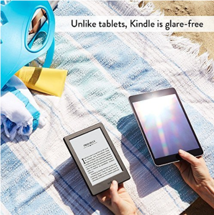 Amazon Kindle with Touchscreen Display & Built-In Wi-Fi