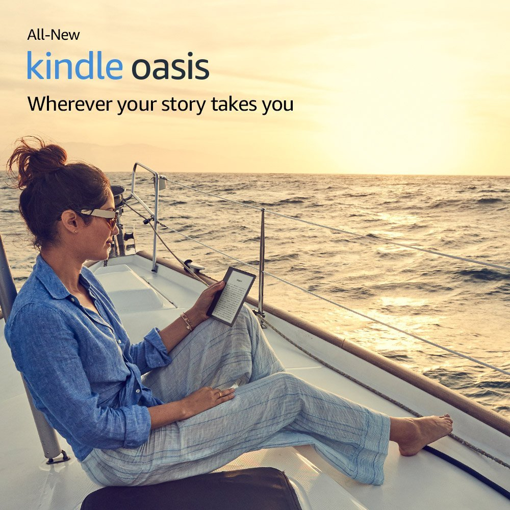 Amazon All-New Kindle Oasis E-reader