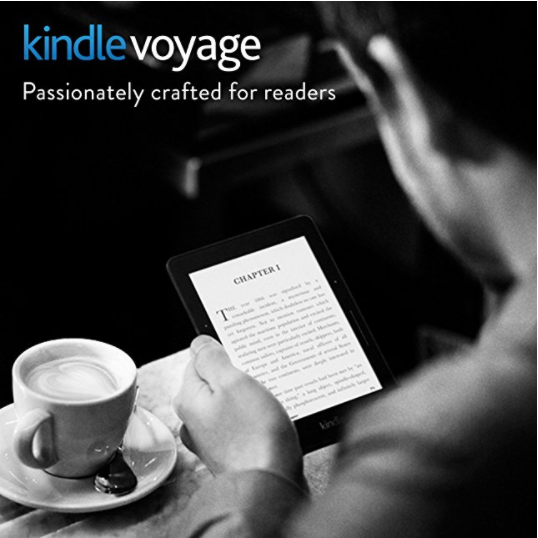 Amazon Kindle Voyage E-reader with HD Display & Adaptive Built-in Light
