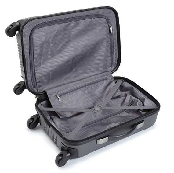 Kenneth Cole 4-Wheel Carry-On Suitcase
