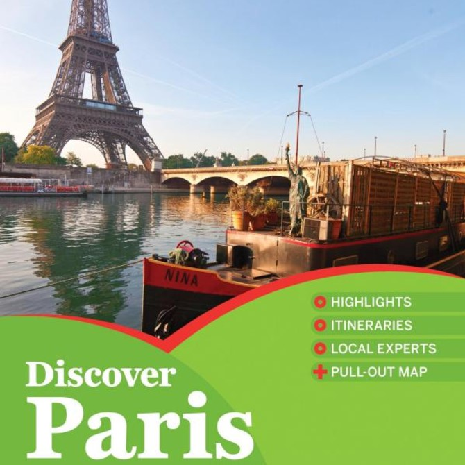 Lonely Planet Discover Paris 2017 Travel Guide