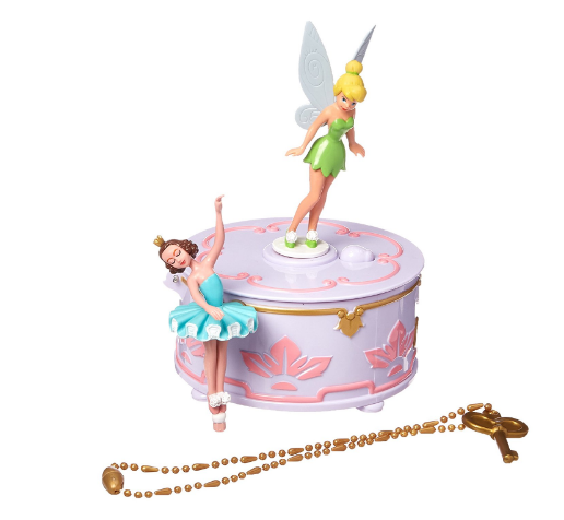 Disney Fairies Wendy's Tinkerbell Music Jewelry Box