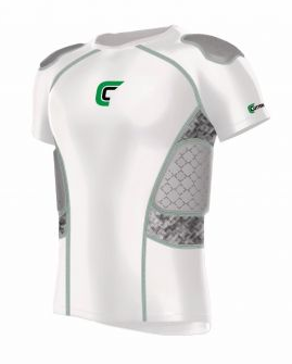 Cutters Sports REV 5-Pad Football Shirt