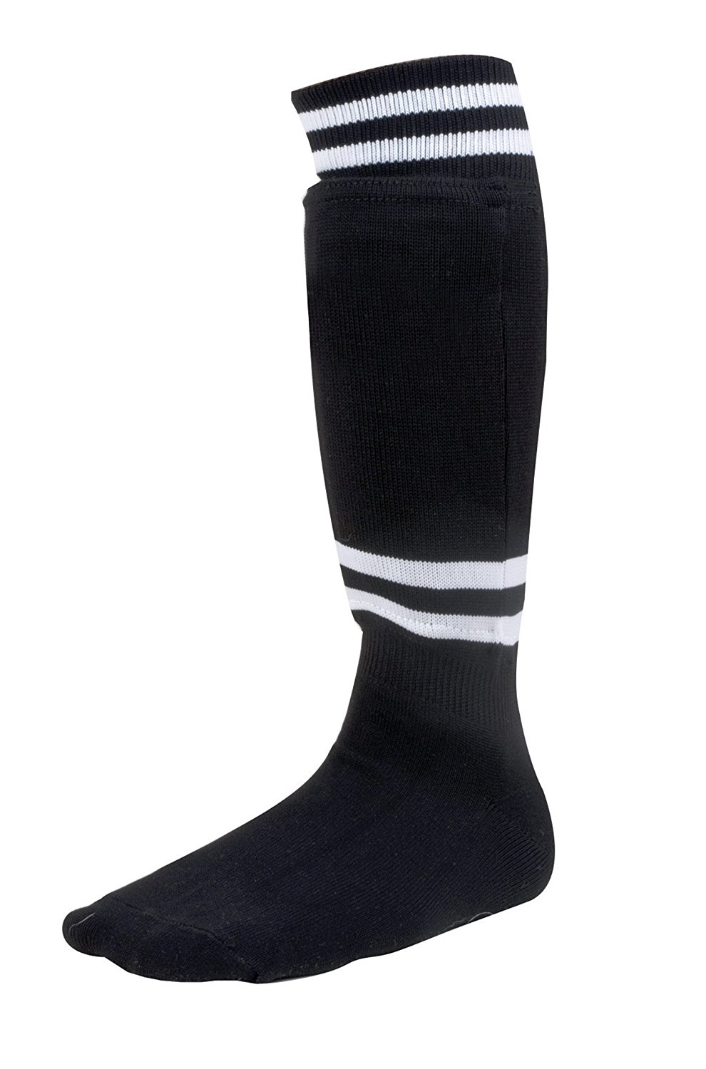 Champion Sports Sock Style Soccer Shin Guard