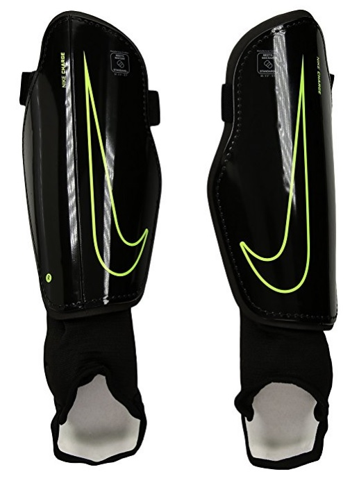 Nike Charge 2.0 Unisex Adult Soccer Shin Guard with Zipper Closure - Multiple Sizes Available