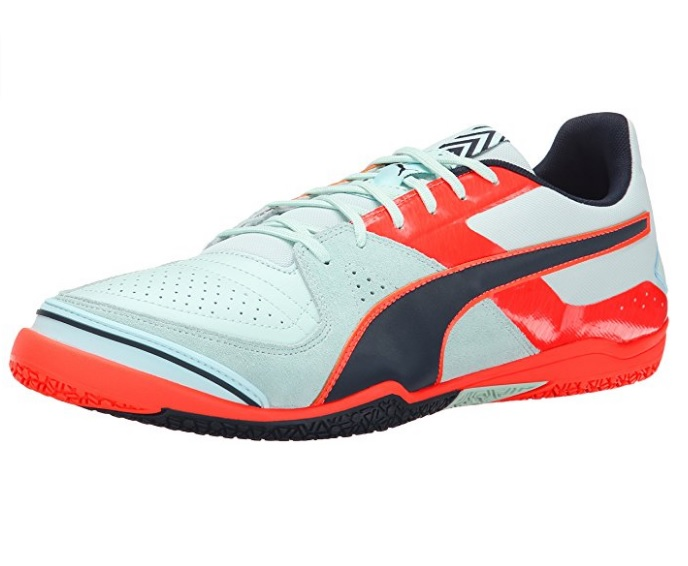 Puma Men's Invicto Sala Soccer Shoes with Rubber Sole - Multiple Sizes and Colors Available