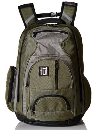 Ful Free Fall'n Unisex Adult Bag with Padded Laptop Compartment