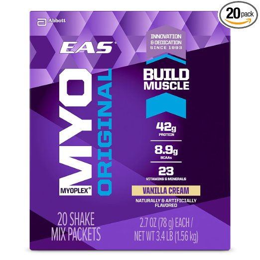 EAS Myoplex Original Protein Powder Packets