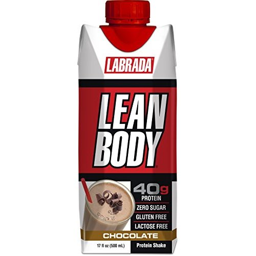 Labrada Nutrition Lean Body RTD Whey Protein Shake – Available in 9 Flavors & 3 Sizes