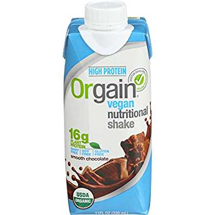 Orgain Plant Based Vegan Nutrition Shake