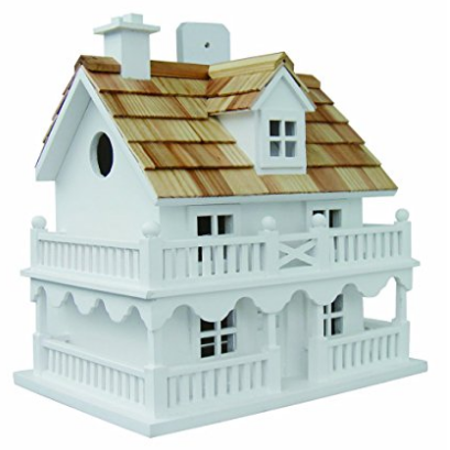 Home Bazaar Novelty Cottage Bird House
