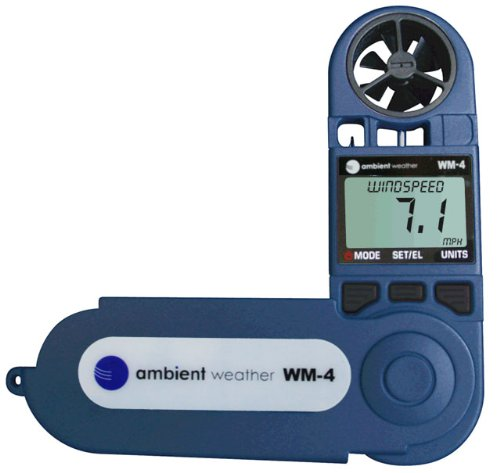 Ambient Weather WM-4 Handheld Weather Station
