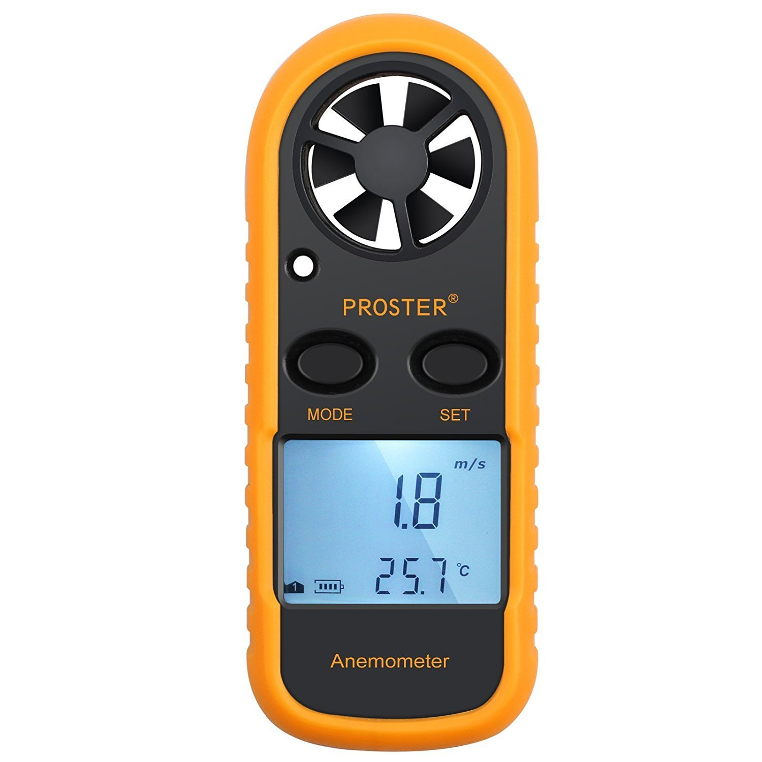 Proster Handheld Wind Speed Meter