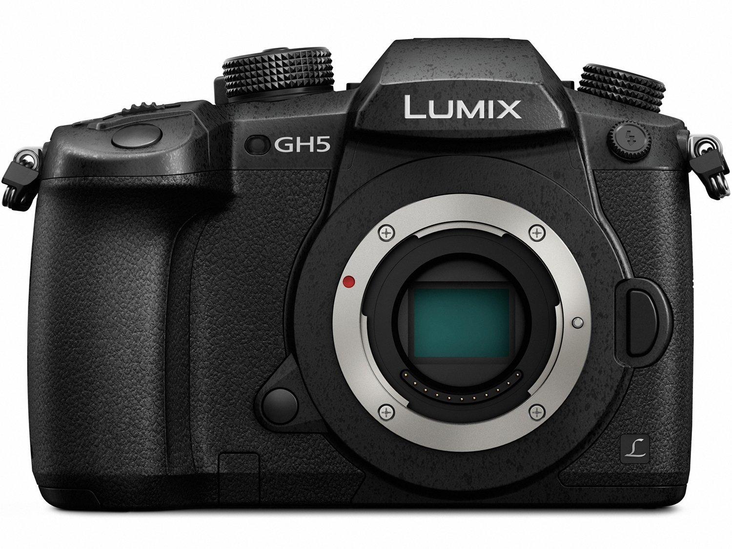 Panasonic Lumix GH5 Body 4K Mirrorless ILC Camera, with 20.3 Megapixels - Available in 7 Different Packages.