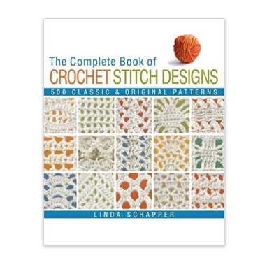 Linda P. Schapper Complete Book of Crochet Stitch Designs
