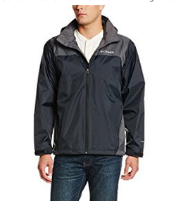 Columbia Men's Collegiate Glennaker Lake Rain Jacket with Stow Hood - Available in 19 Colors & 5 Sizes