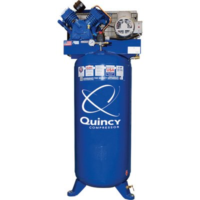 Quincy Compressor QT-54 Splash Lubricated Reciprocating Air Compressor