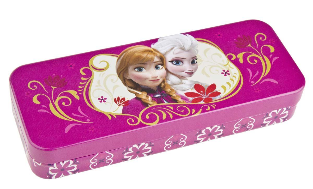 Disney Best Frozen Tin Pencil Box - Available in Four Designs