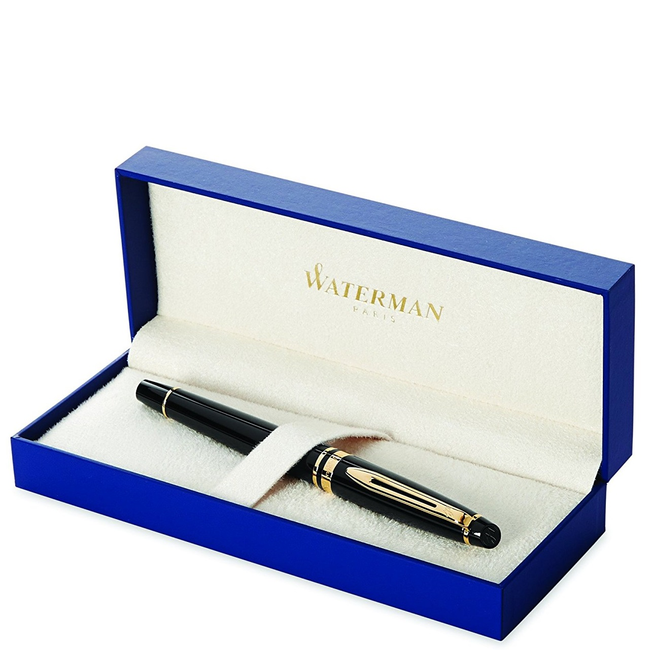 Waterman Expert Black Fountain Pen