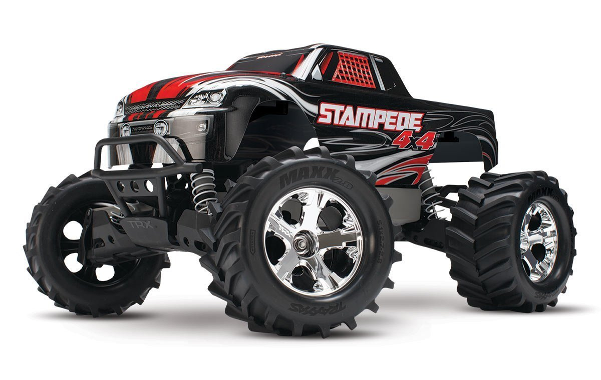 Traxxas Stampede 4X4 Brushed 1/10 Scale High-Performance Monster Truck – Available In 5 Colors