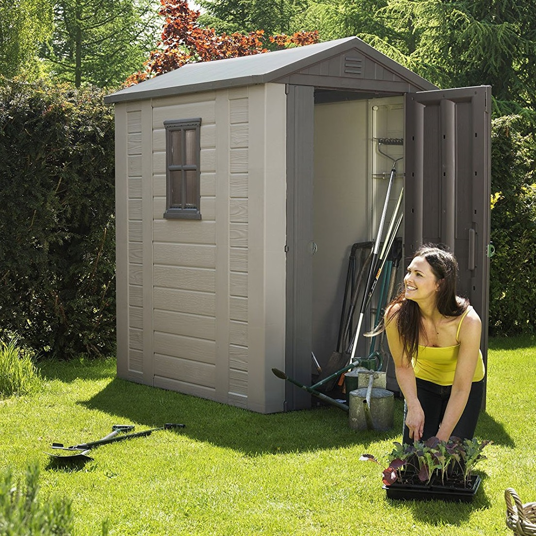 Keter Outdoor Garden Storage Shed