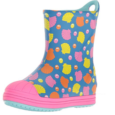 Crocs Kids' Bump It Graphic Rain Boot