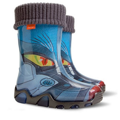 Demar Cartoon Print Kids Boots