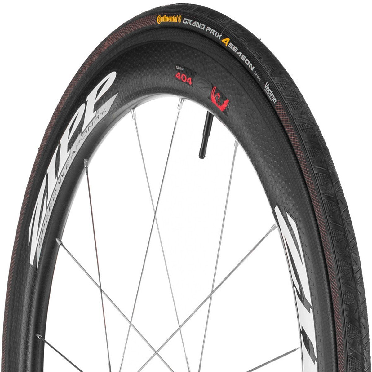 Continental Grand Prix 4 Season Road Bike Tire – Vectran Puncture Protection, DuraSkin Sidewall Protection, All Season Replacement Clincher Tire