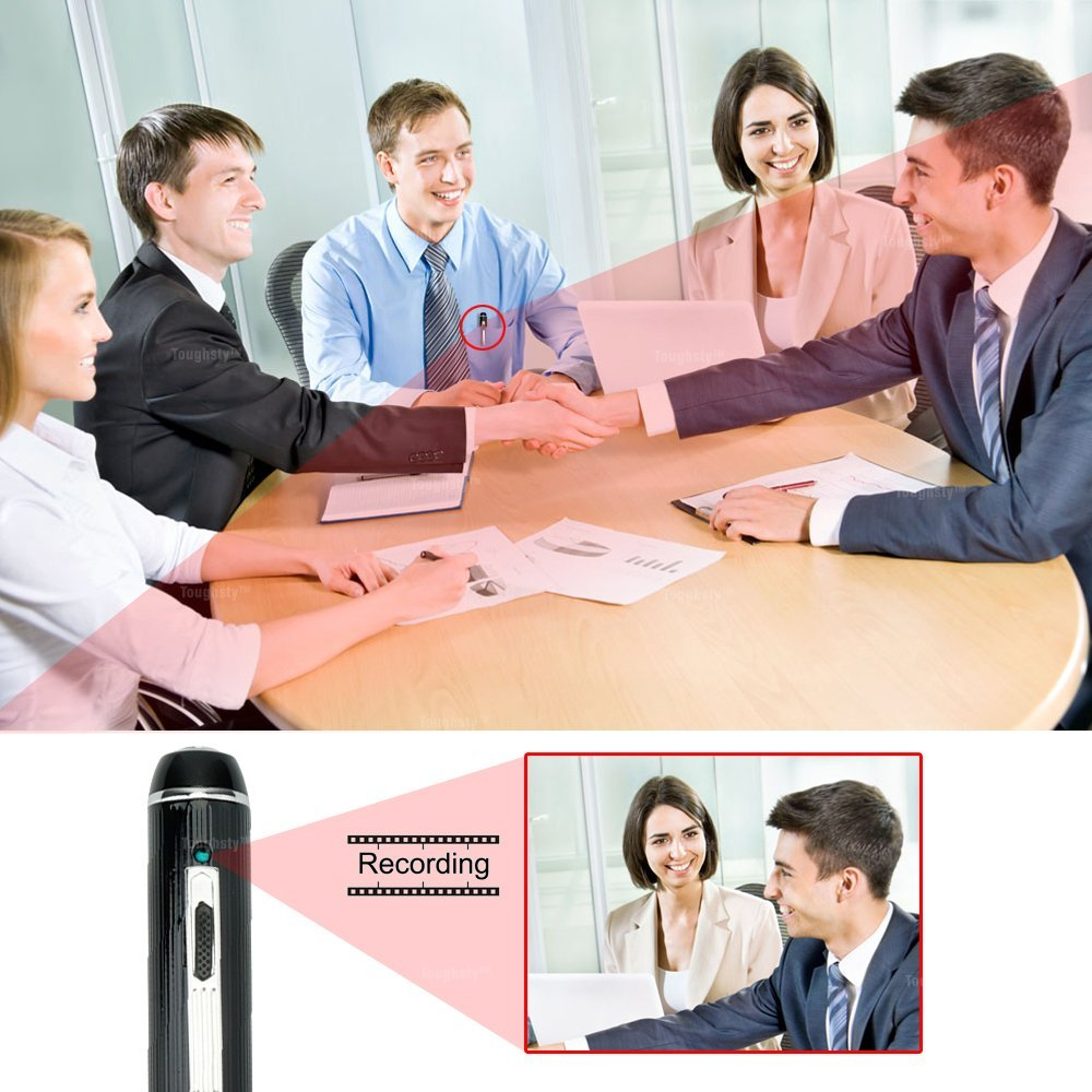 Toughsty HD Portable Hidden Camera Pen